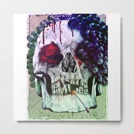 Culture of death Metal Print