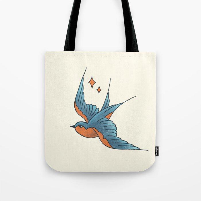 Swallow Flash Tote Bag