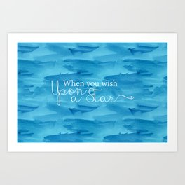 When You Wish... Art Print