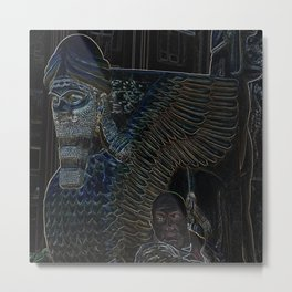 Man of Babylon Metal Print