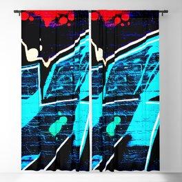 Graffiti 14 Blackout Curtain
