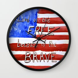 New Americana Wall Clock