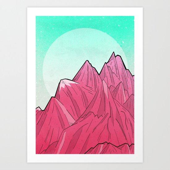 A Winters Morning Art Print