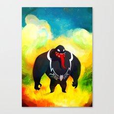 Venom in Wonderland Canvas Print