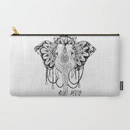 Boho Elephant Carry-All Pouch