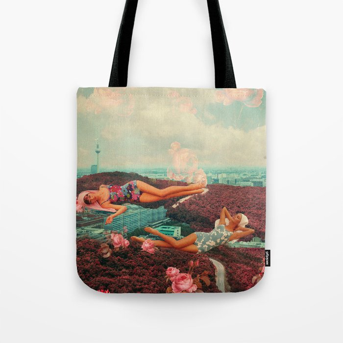 Those Pink Afternoons Tote Bag