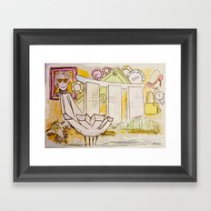 Andy Shaped (war)Hols Framed Art Print