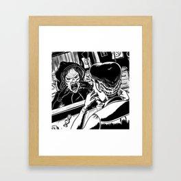 The Tale of the Dark Dragon Framed Art Print