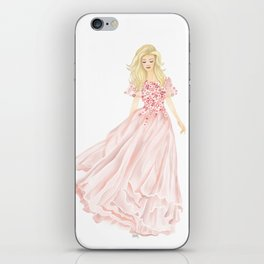 The Pink Dress iPhone Skin