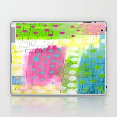 Polk-A-Dotted Background Laptop & iPad Skin