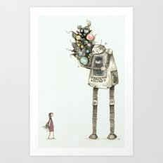 You asked me for space Art Print