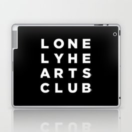 Lonely Hearts Club - 4 Arrangement - Black Laptop & iPad Skin