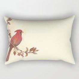 Red Cardinal Rectangular Pillow