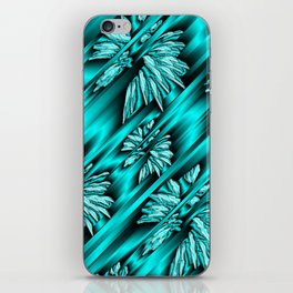 abstract pattern in metal iPhone Skin