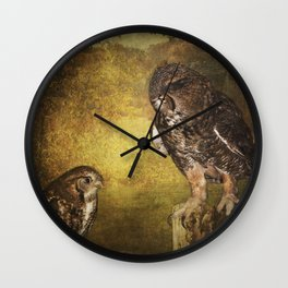 Lesson Time Wall Clock