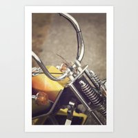 moto Art Prints featuring Moto by CMcDonald