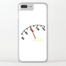 100 Pounds Clear iPhone Case