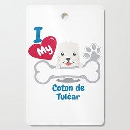 Coton De Tulear Cutting Board