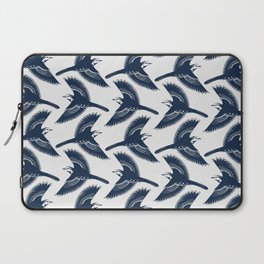 White Wagtails Pattern Laptop Sleeve