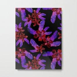 Tahitian Garden {E} Metal Print