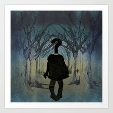 Into the wild. Question series  Art Print