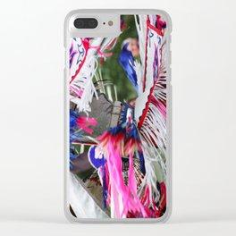 Blackhawk Indian Dance Clear iPhone Case