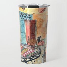 Marrakesh Riad Travel Mug