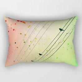 Small Talks Rectangular Pillow