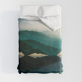 Waters Edge Reflection Duvet Cover