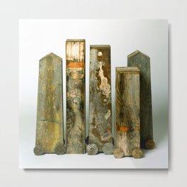Residual Village No2 by Annalisa Ramondino Metal Print