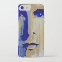 chris evans iPhone & iPod Cases featuring Chris by JennDomke73