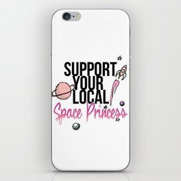 Space Princess iPhone Skin