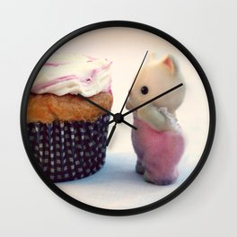 Now That's a Cupcake Wall Clock