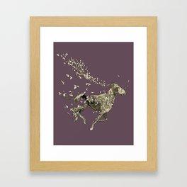 Year of the Horse Framed Art Print