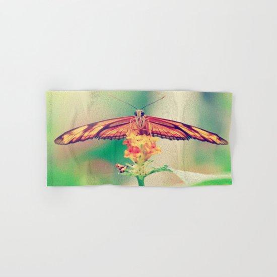 Butterfly retro Hand & Bath Towel