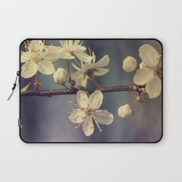 Cherry blossom tree in the blue Laptop Sleeve