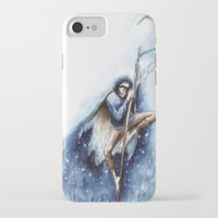 jack frost iPhone & iPod Cases featuring Jack Frost by Ines92
