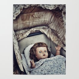 Haunted she is Poster