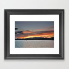 Calm paradise.... Framed Art Print