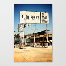 Balboa Ferry Canvas Print