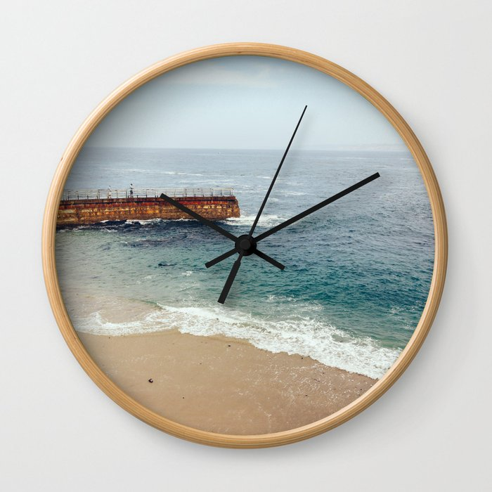 Seal Beach San Diego,California Wall Clock