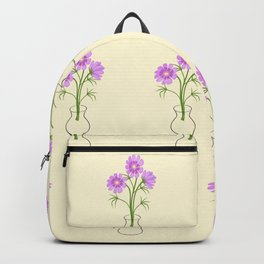 three daisies in the vase Backpack