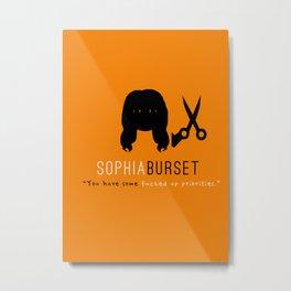 Sophia Burset | OITNB Metal Print