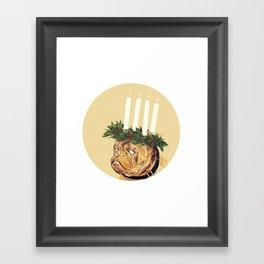 St. Lucia Crown Framed Art Print