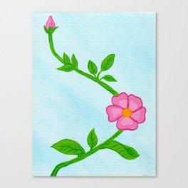 Rose Vine Canvas Print