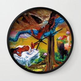 Goddess Never Not Broken Wall Clock