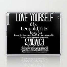 Love Yourself like Leopold Fitz Loves his Prosciutto and Buffalo Mozzarella Sandwich - AoS Laptop & iPad Skin