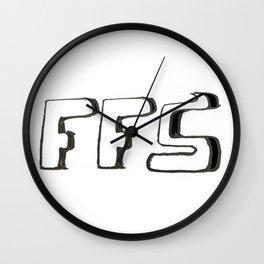 FFS Slogan! Wall Clock