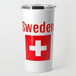 Sweden - Swiss Flag Travel Mug