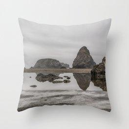 Whaleshead Beach Throw Pillow
